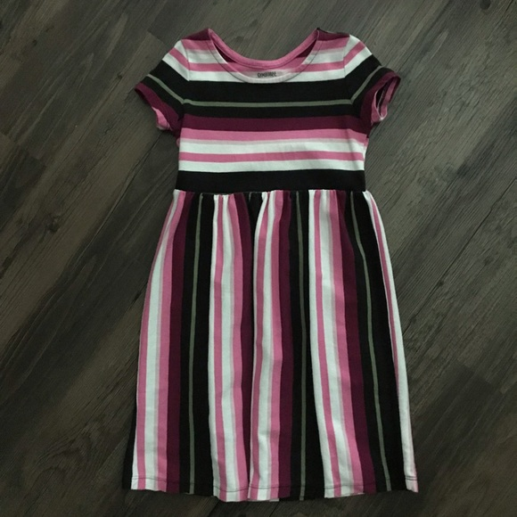 Gymboree 4T Striped Midi Dress
